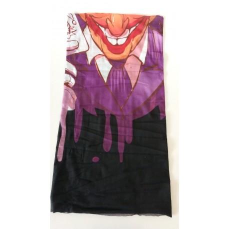 Bandana tubolare crazy clown